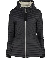 moose knuckles vanilla sky hooded down jacket