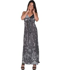 vestido calabaza gris alexandra cid