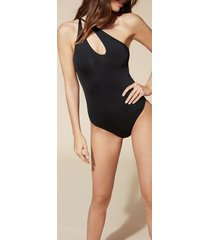 calzedonia regina swimsuit woman black size m