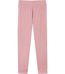 leggings palo rosa-blanco facol