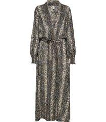 melina robe maxiklänning festklänning grå underprotection