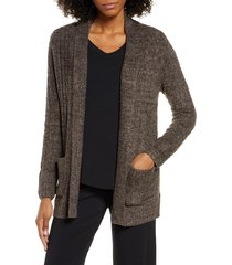 women's barefoot dreams cozychic(tm) lite cable knit cardigan