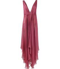 erika cavallini sleeveless tunic dress - pink