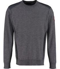 canada goose dartmouth merinos wool sweater