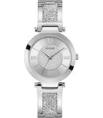 reloj guess mujer aurora/w1288l1 - plateado