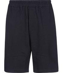 jil sander ribbed shorts