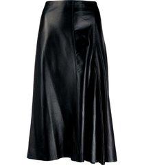 joseph godet-insert mid-rise skirt - black