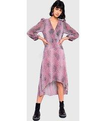 vestido glamorous morado - calce regular
