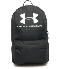 morral  negro-blanco under armour