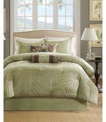 madison park freeport 7-pc. queen comforter set bedding