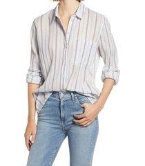 women's treasure & bond plaid shirt