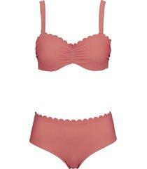 bikini con ferretto (set 2 pezzi) (rosso) - bpc selection