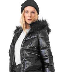 jaqueta colcci ampla preta