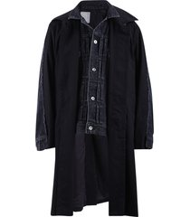 sacai layered jacket