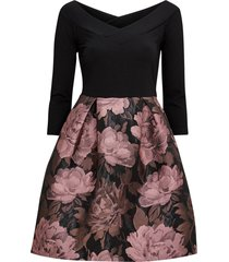 klänning 50's jersey jaquard dress