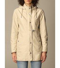 fay jacket virginia fay coat in poplin with hood
