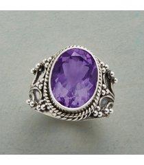 arienne amethyst ring