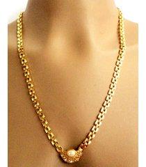 collar wow! 1889 dorado/marfil