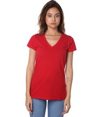 remera roja vov jeans escote v