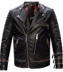 biker jasje met logo