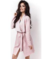 płaszcz vanessa różowy