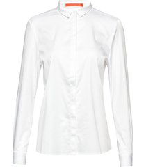 regular shirt overhemd met lange mouwen wit coster copenhagen