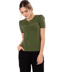 camiseta balance verde ragged pf51120475