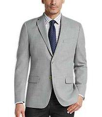 tommy hilfiger gray tic slim fit sport coat