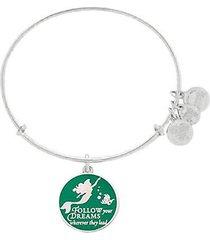 disney parks ariel follow your dreams bangle bracelet alex ani silver new w tags