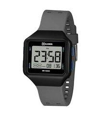 relógio masculino x-games digital - xgppd151 bxgx preto