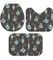 jogo love decor wevans tapetes para banheiro enfeites de natal chumbo