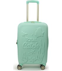"ful disney princess ariel little mermaid hardside 21"" carry-on luggage"