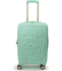 "ful disney princess ariel little mermaid hardside 21"" carry-on luggage"