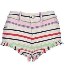 isabel marant campinas striped shorts
