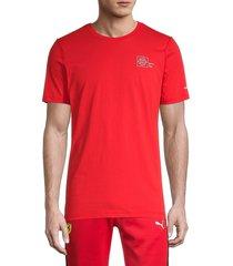 men's puma x tyakasha graphic t-shirt - red - size xl