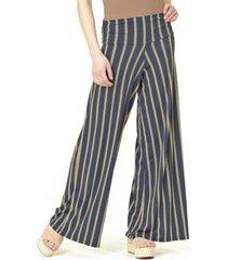 pantalón casual listado azul bous