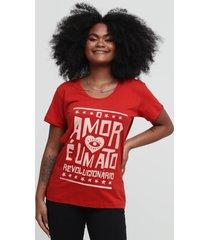 camiseta ato revolucionário