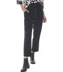 pantalon amarra mujer negro corona