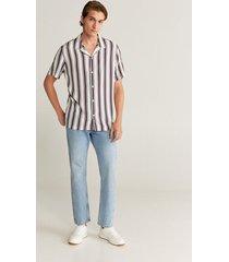 soepelvallend regular-fit overhemd