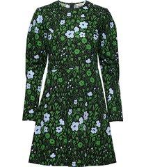 alku pikkulempi dress kort klänning grön marimekko