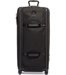 tumi alpha 3 collection 34-inch tall 4-wheel duffle packing case - black
