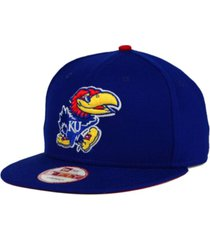 new era kansas jayhawks core 9fifty snapback cap
