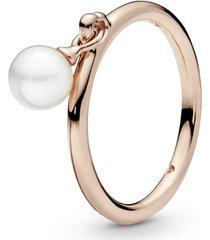 anel rose elegante esfera