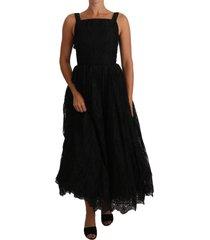 ball lace floral ruffle jurk