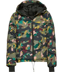 alba puffer jacket fodrad jacka multi/mönstrad röhnisch
