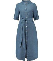 jurk bregje jeansblauw