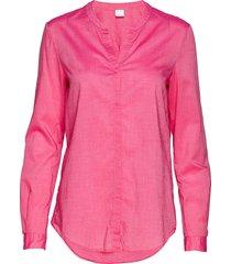 efelize_9 blus långärmad rosa boss casual wear