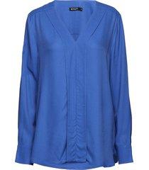meristem blouse lange mouwen blauw tiger of sweden