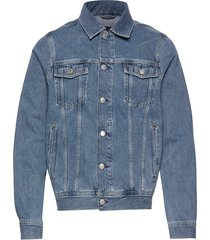 d2. the denim jacket jeansjack denimjack blauw gant