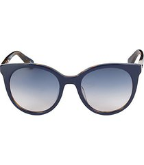 akayla 52mm round sunglasses